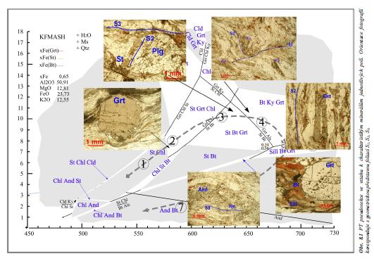 Pseudosekce stroňská série geologie